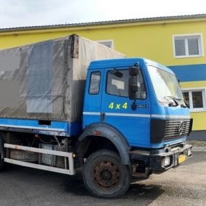 foto 4x4 MB 1824 hydraulic (6.6m lenght only