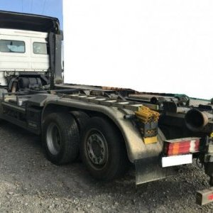 foto 7m container hook 6x2 Mercedes