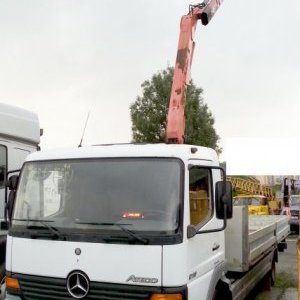 foto 9.5t MB 6.2m with Fassi